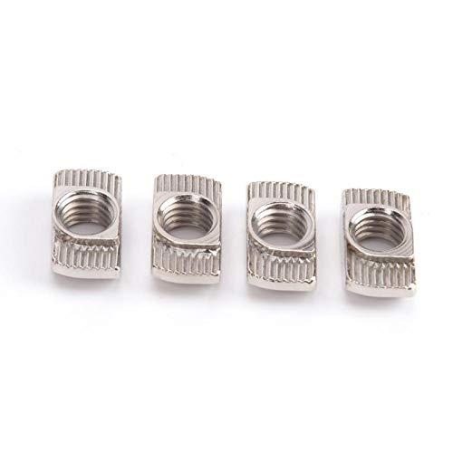 AMONIDA Half Round Nut Aluminum Profiles Nut, Durable Marble Nut Fasteners...