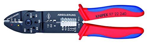 9-1/2' Crimping Pliers, Ergonomic Grip