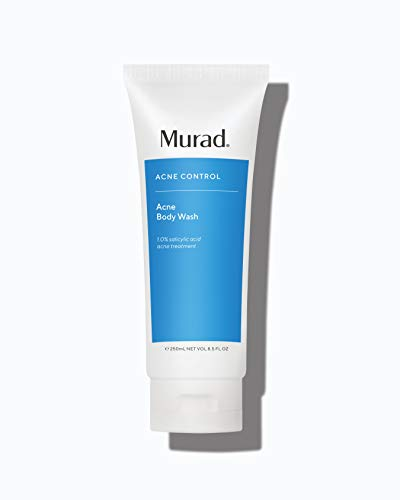 Murad Acne Body Wash (8.5 oz) Clarifying and Exfoliating Bodywash Gel with Salicylic Acid (Packaging May Vary)