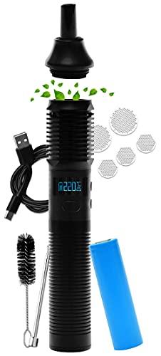 ZEN Vaporizers ® Stilus Pro Konvektion Vaporizer USB C, Display, Time Mode, Glasmundstück, austauschbarer 18650 Akku, deutscher Premium Support, 2 Jahre Garantie, modular erweiterbar - nikotinfrei