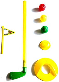 Greenbrier International Mini Golf Toy Set for Indoor, Outdoor and Active Play for Beginner Kid Golfers Complete with a Cl...