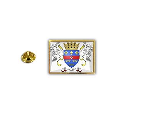 akachafactory pin flaggenpin flaggen Button pins Anstecknadel sammler Saint st Barthelemy