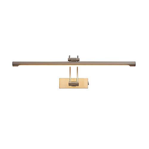Lucande LED Wandleuchte, Wandlampe Innen 'Dimitrij' (Modern) in Alu aus Metall u.a. für Wohnzimmer & Esszimmer (A++, inkl. Leuchtmittel) - Bilderleuchte, Wandstrahler, Wandbeleuchtung Schlafzimmer /