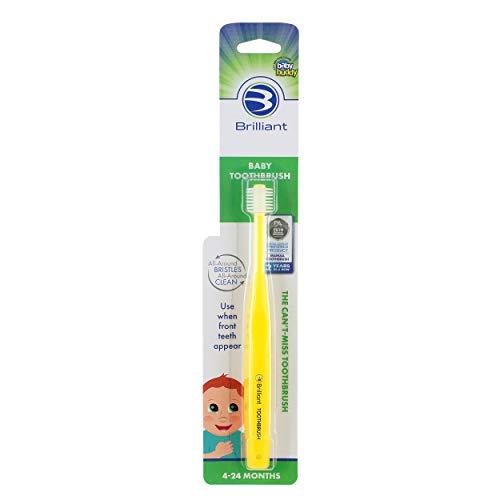 Baby Buddy 360 Toothbrush Step 1, Yellow by Baby Buddy