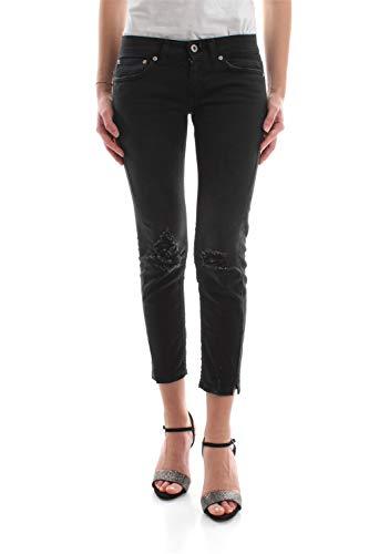 Dondup P282 BS009D R24 Dia Jeans Damen Denim schwarz 31