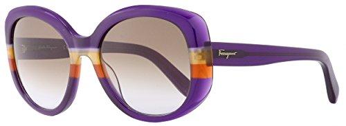 Ferragamo SF793S Schmetterling Sonnenbrille 54, Mehrfarbig
