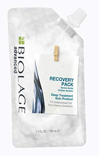 Biolage Mascarilla Recovery Pack Deep Treatment para Cabello Químicamente Procesado, 100 ml