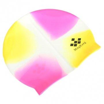 Bheema De alta calidad de estilo durable Deportivo silicona Natación Swim Cap Bañarse Sombrero