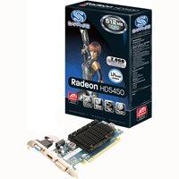 Sapphire Radeon HD5450 HyperMemory 512MB (PCIe, VGA, DVI, HDMI, 1 GPU)