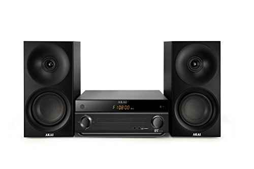AKOR Micro Chaine Tuner FM Digital - CD-MP3 - Bluetooth - 40W - USB Compatible