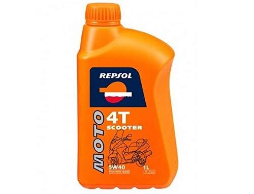 Aceite Repsol Moto Scooter 4t 5w40 1l.