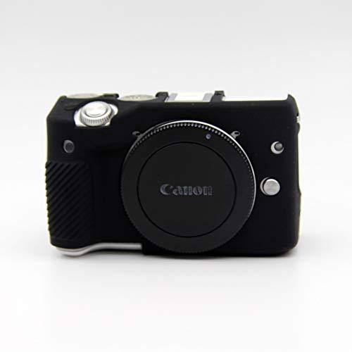 Zakao - Custodia protettiva in morbido silicone per fotocamera digitale Canon Eos M3 (nero)