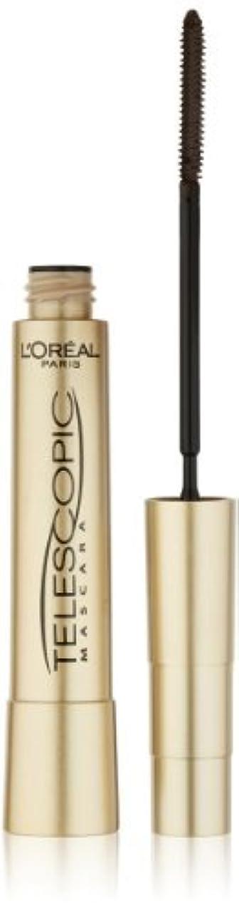 代わりにを立てるうそつきウェブL'Oreal Paris Telescopic Mascara, Black, 0.27 Ounces by L'Oreal Paris Cosmetics [並行輸入品]
