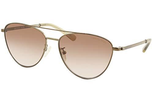 Michael Kors Damen 0MK1056 Sonnenbrille, Brown/Brown Shaded, 58
