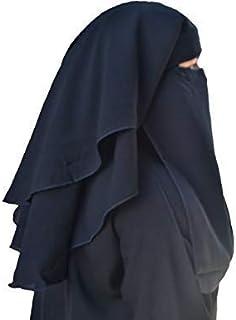 Firdous 3 layer Hijab