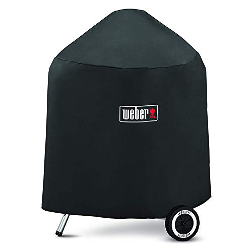 Weber Grill Cover 7149 for Weber Charcoal Grills with Storage Bag (25X27X35 Inches)