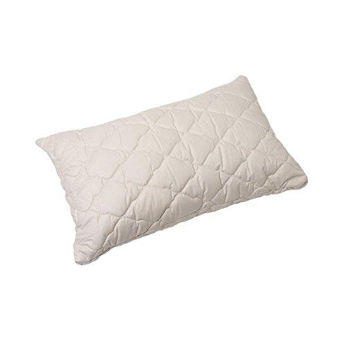 Öko Planet Kinder Kissen 40x60 cm, allergieneutrales 100% Bio Baumwolle Kopfkissen für Babys und Kleinkinder, Füllung anpassbar, Bezug waschbar