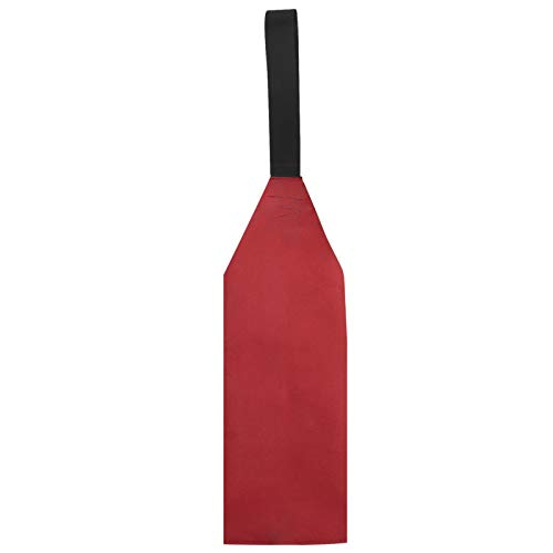Bandera de seguridad para kayak, canoas, tabla de advertencia para kayak, canoas, color rojo