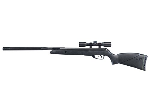 Wildcat Whisper Break Barrel Air Rifle, .177 Pellet, 4x32mm Scope, 1300 FPS