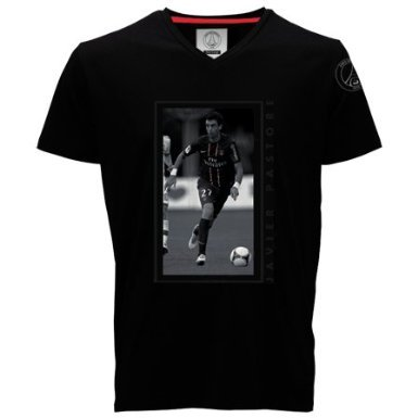 Paris Saint-Germain T-shirt – Javier Pastore – nr. 27 – officiële collectie PSG – voetbal Club Ligue 1 – kinder-T-shirt
