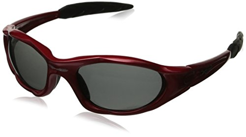 X-Loop Polarized Sunglasses Red frame