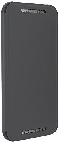 HTC Flip Case Cover for HTC One (M8) Mini - Grey