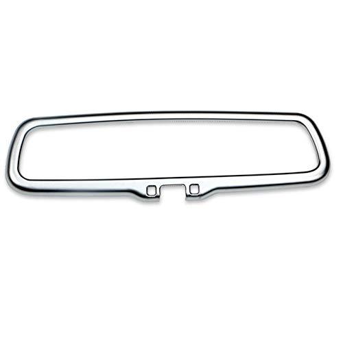 HCO-YU ABS Chrome Car Styling Inner Retroview Espejo de espejo Cubierta de decoración Pegatina Ajuste para Kia Sportage QL 2016-2019 Accesorios