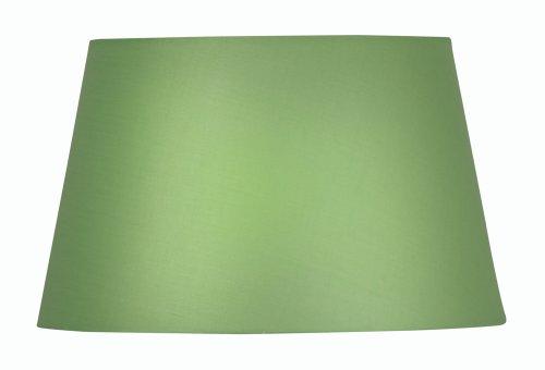 Oaks Lighting Lampenschirm aus Baumwolle, zylindrisch, 20 cm, grün