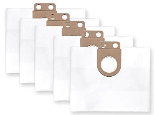 5x bolsas para aspirador tejido Metabo ASA 1202