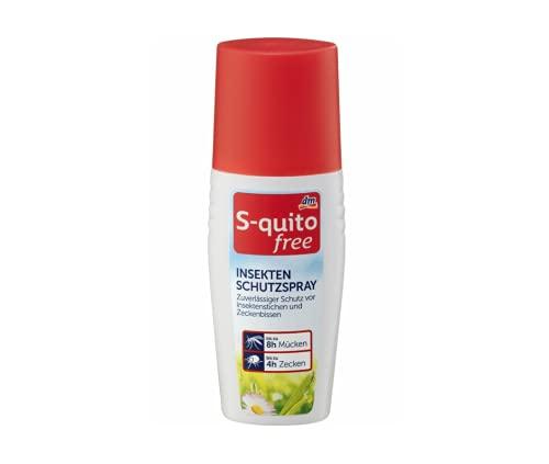 Insektenschutzspray S-quitofree Insektenschutzspray, 100 ml