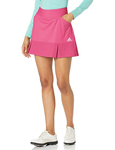 adidas Golf Women's 15-inch Primegreen Skort, Pink, Medium