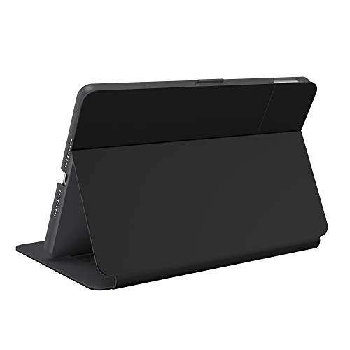 Speck Products StyleFolio iPad Case (2019) and Stand, Black/Slate Grey