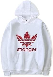 Unisex Pop Oversized Boyfriend style Cotton 2 Hoodies Printed Stranger Things Sweatshirts full Sleeve Top Men Women