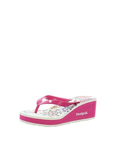 Desigual Damen Shoes (LOLA_Galactic) Zehentrenner Merhfarbig 40 EU