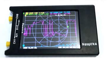"NanoVNA Vector Network Analyzer 50KHz-900MHz HF VHF UHF Measuring Standing Wave Ratio, Smith Chart, 2.8"" LCD Antenna Analyzer"