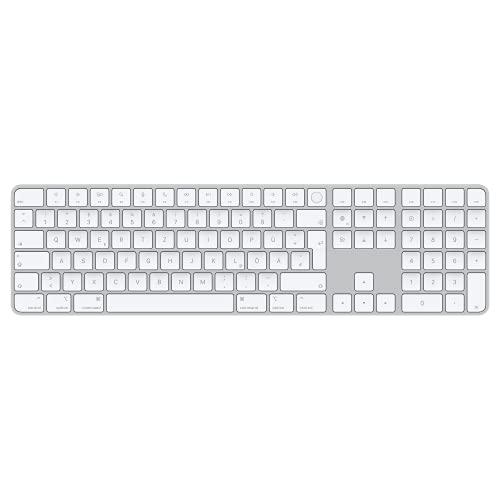 Apple Magic Keyboard mit TouchID und Ziffernblock (für Mac mit AppleChip) - Deutsch - Silber