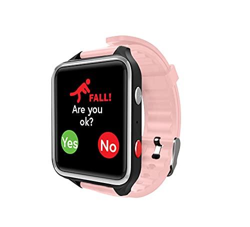 CPR Guardian III - Reloj de Alarma Personal SOS con detección de Alerta de caída y Seguimiento de ubicación por GPS
