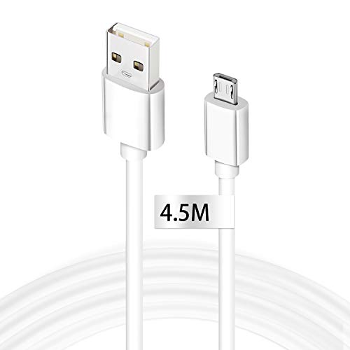 Micro USB Cable, Extra Long Android Fast Charger Cable High Speed USB Data Sync Charging Cable Compatible for Samsung Galaxy S6/S7/S4/S3/J5/J7/J3, HTC, Sony, LG, Nexus, PS4, Tablet and More