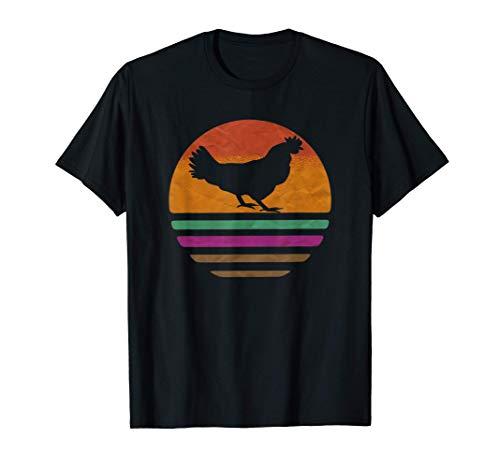 pollo vintage gracioso granja aves de corral regalos diseños Camiseta