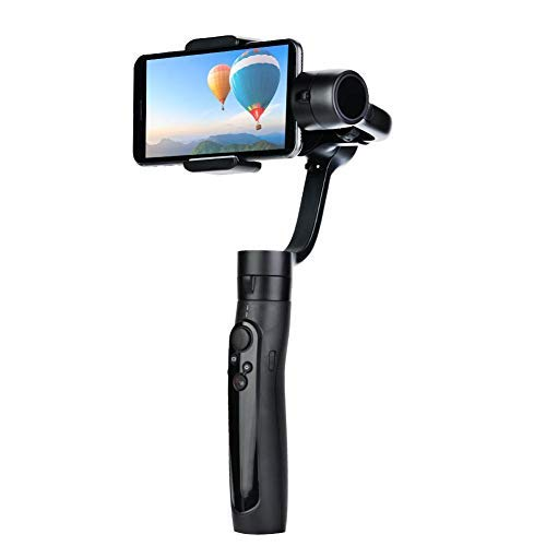 V BESTLIFE Freevision Vilta SE S Gimbal de Estabilizador para Smartphone, Cámara Deportiva Estabilizador de Cardán de Mano Extensible Uso de Largo Tiempo