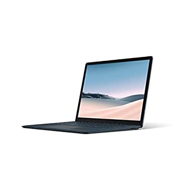 Microsoft VEF-00043 Surface Laptop 3  13.5 Touch-Screen  Intel Core i7 - 16GB Memory - 256GB Solid State Drive Cobalt Blue with Alcantara