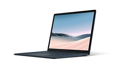 """Microsoft V4C-00043 Surface Laptop 3 – 13.5"""" Touch-Screen – Intel Core i5 - 8GB Memory - 256GB Solid State Drive (Latest Model) – Cobalt Blue with Alcantara"""
