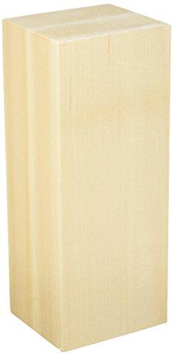 Walnut Hollow Basswood Carving Block, 4' x 3.5' x 10'