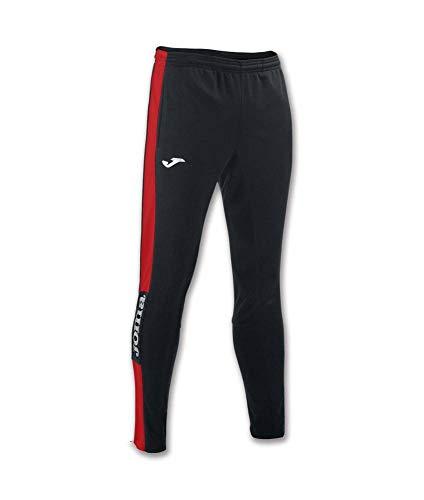 Joma 100761.106 Pantalones, Hombre, Negro Rojo, M