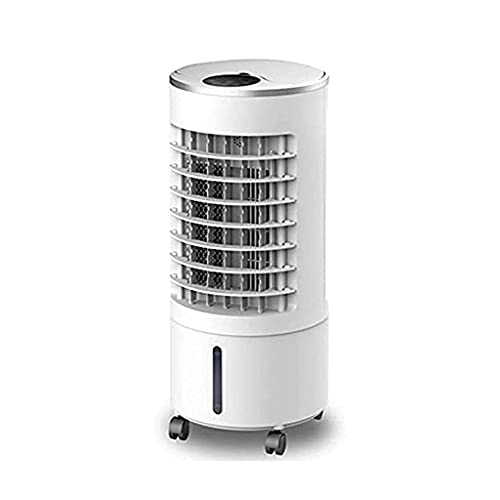 QTWW Coolers Bladeless Tower Fan, Oscillating Mute Remote Control Air Conditioner Anion Purifier Air Circulator Fan Humidifier Air Cooler,Machinery