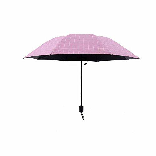 bpblgf parasol, vizier, UV-bescherming, klapparaplu, van zwart kunststof, zonnescherm