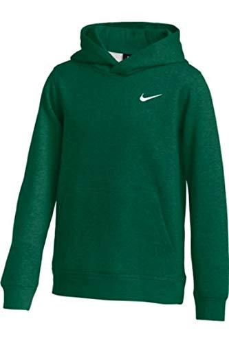 Nike Youth Fleece Pullover Hoodie (Green, Medium)
