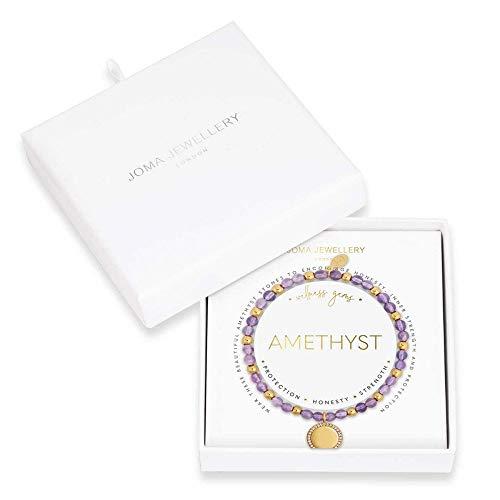 Joma Jewellery Wellness Gems | Amethyst Bracelet