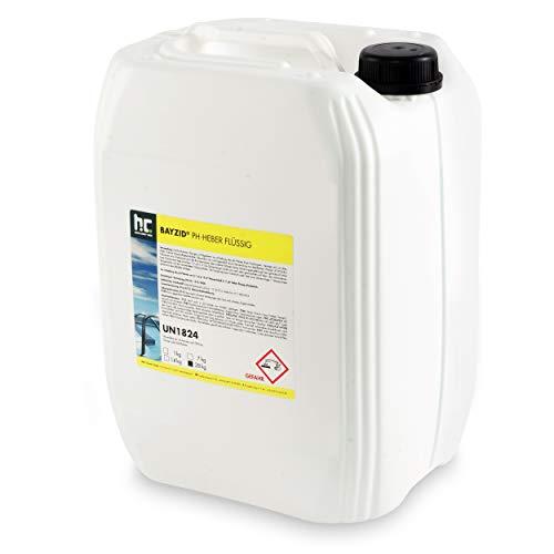 Höfer Chemie BAYZID 6 x 28 kg pH Plus flüssig zur Anhebung des pH Werts in Pool & Schwimmbad