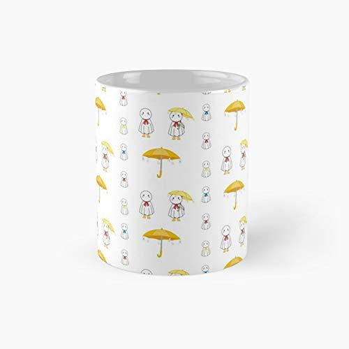 Weathering With You Nagi Sticker Pack Classic Mug Best Gift Funny Coffee Mugs 11 Oz